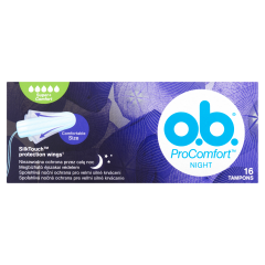 o.b. ProComfort Night Super+ Comfort tampon 16 db
