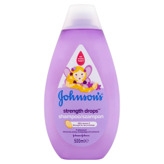 JOHNSON'S® Strength drops™ sampon 500 ml