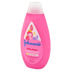 JOHNSON'S® Shiny Drops sampon 500 ml
