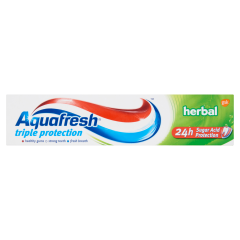 Aquafresh Herbal fogkrém 100 ml