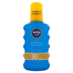 NIVEA SUN Protect & Refresh hűsítő napozó spray FF30 200 ml