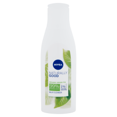 NIVEA Naturally Good arctisztító tej 200 ml