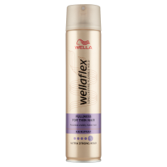 Wella Wellaflex Fullness For Thin Hair hajlakk 250 ml