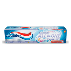 Aquafresh All in One Protection Whitening fluoridos fogkrém 100 ml