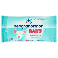 Neogranormon Baby Sensitive törlőkendő 55 db