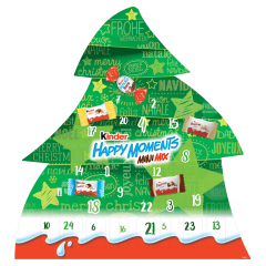Kinder Happy Moments Mini Mix adventi naptár 133 g