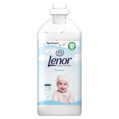 Lenor Sensitive Öblítő, 1800ML, 60 Mosáshoz