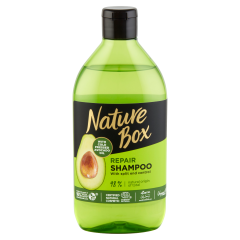 Nature Box sampon Avokádó a regenerált hajért 385 ml